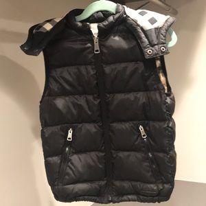 Burberry boy hoodie buffers vest